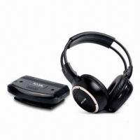 Quality Stereo Infrared Wireless Headphones for Home Audio System, with 10m Operating Distance wholesale