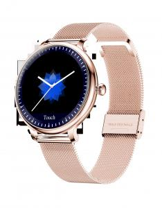 Quality Round Touch Screen ROHS Ladies Bluetooth Smart Watch wholesale