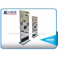 Quality LCD Mirror Digital Touch Screen Information Computer Kiosk Cabinet With Motion Sensor wholesale