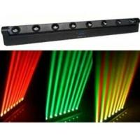 Quality Four-colors Red Green Blue White 8PCS Cree Bulbs LED Moving Head Light With Beam Mode wholesale