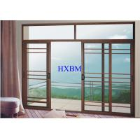 Quality Villas Apartments Aluminum Sliding Windows With 6mm Tempered Glazing wholesale