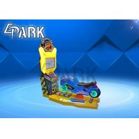 China EPARK Newest racing car game machine kids toy on ride  electric car game machine for sale on sale