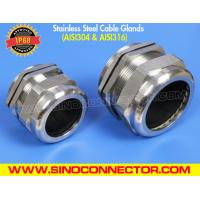China IP68 PG Metric Stainless Steel Cable Glands (Prensaestopas de acero inoxidable) in AISI304 & AISI316 on sale