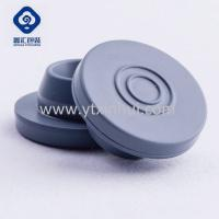 China 20mm 20-A Grey & Red Medical Vials Butyl Rubber Stopper for Antibiotics on sale