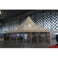 Quality φ10M Six Sides Pagoda Party Tent Temporary Aluminum Frame For Shanghai Exhibition wholesale