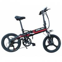 China 20 Inch Folding Electric Bicycle , Powerful E Bike 48v 350w Motor Variable Speed on sale