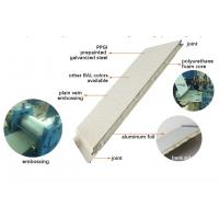 Quality Construction Material PU Polyurethane Sandwich Wall Panel for Wall Siding wholesale