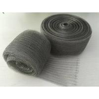 Quality 98% Efficiency Stainless Steel Knitted Wire Mesh Demister Pad Flat / Corrugated Surface wholesale