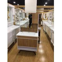 Quality Custom Made Square Hanging Bathroom Vanity Plywood Board Wall Bathroom Cabinets wholesale