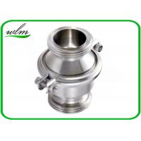 Quality Sanitary SS Check Valve , High Temperature Check Valve With Male Thread End wholesale