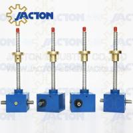 Quality Best seller JTC100 100kn adjustable screw jack lifting platform with long travel 1500mm rod wholesale