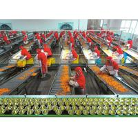 Quality Plastic Cup Canned Food Production Line , Fruit And Vegetable Processing Equipment wholesale