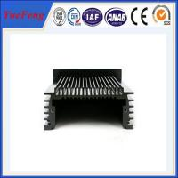 China aluminium cooler shell extruded aluminium alloy heat sink,OEM anodized aluminium heat sink on sale