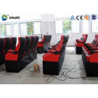 Quality 2DOF 4D Cinema System With Sweep Leg Push Back Vibrate Special Effects wholesale