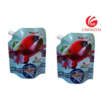 Quality Gravure Printing Surface Stand Up Spout Pouch Use Handling Shampoo Bags wholesale