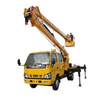 Quality 14-16m Aerial Platform Working Truck , Overhead Working Truck 4X2 wholesale