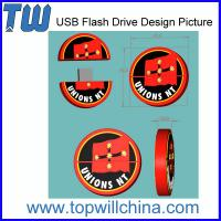 Unique Custom PVC USB Flash Drive Product for your own
