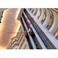 Machine Room Less Panoramic Elevator 13 Person Observation Lift Customized