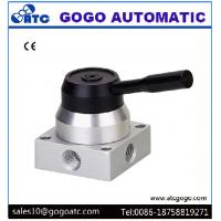China 1/8 Port  Manual Air Control Valve 4 Way 3 Position Pneumatic High Performance on sale