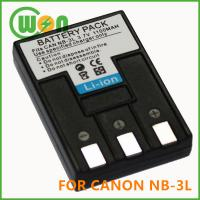 Quality NB-3L NB3L Battery for Canon PowerShot SD100 SD20 SD550 Camera wholesale