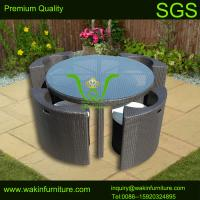 China patio outdoor round dining set on sale