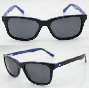 Quality Black Scratches Resistance Acetate Frame Sunglasses For Unisex wholesale