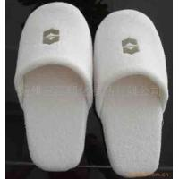 Quality Inside Disposable House Slippers Comfortable Soft Cotton Terry Slippers With Towel Upper wholesale