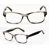 Quality Rectangle Handmade Acetate Flexible Eyeglasses Frames For Men, Ladies wholesale