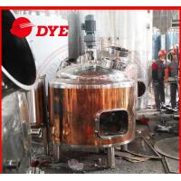 Quality Grain wheat brew glycol cooling jacket conical fermenter for making beer wholesale