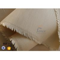 Quality Brown 800℃ 600g Satin Silica Fabric Fiberglass High Temperature Cloth Durable wholesale