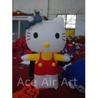 Quality Good Quality 2m H Inflatable Hello Kitty Balloon With Free Air Blower for Advertising,Party wholesale