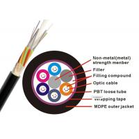 China Non Metallic GYFTY Fiber Optic Armoured Cable G652D 12 24 30 48 Core PE HDPE G657A2 on sale