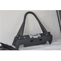 Quality Aluminum / Steel Jeep Wrangler Front Bumper With Black Powder Coated Steel wholesale
