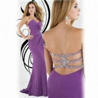 Quality Chiffon Elegant Prom Dress with New Style and Floor Length wholesale