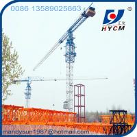 Quality 55m Boom&1.0t Tip Load 6ton Tower Crane wholesale
