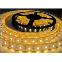 Quality 3528 strip led light 12VDC waterproof IP65 LED Flexible Lights for outdoor decoration Yellow color wholesale