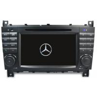 Quality Mercede Benz C-Class W203 2004-2007 Android 9.0 IPS ScreenCar Autoradio Multimedia Navigation Support DSP BNZ-7528GDA wholesale