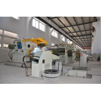 China Decoil slitting line:uncoiler, straightening ,shearing .feeding and positioning, slitting unit, recoiler on sale