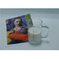 Quality Matte Water Resistant Water Based Inkjet Receptive Coating For Fabrics White Milk Solution wholesale