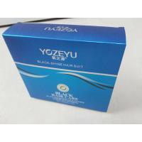 Quality Paper bag for packing black hair care wholesale