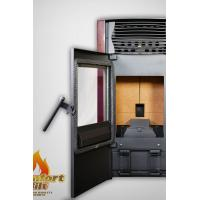 Quality CE UL Certified Wood Pellet Burning Stove , Smart Control Living Room Pellet Stove wholesale