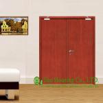 Quality 30/60/90 Wooden Fire Retardant Door For Commercial Building, With Hinge, Lock, Door Closer wholesale