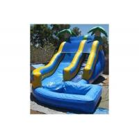 Quality Outdoor Blow Up Water Playground Games Bounce House Amusement Park For Kids 5-15 Years Old wholesale