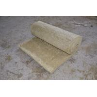 Quality Rolled Rockwool Insulation Blanket Light Weight Building Material 25mm - 150mm Thick wholesale