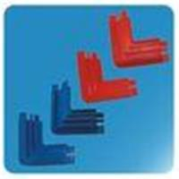 Quality OEM ABS Refrigerator Replacement Part Frame Corner Hardware Blue Red 200mm 70mm wholesale