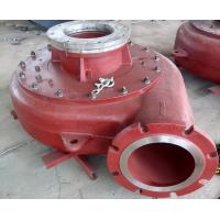 Quality High Performance Mining Slurry Pump Diesel Mud Pump Hard Metal / Rubber Matrial wholesale