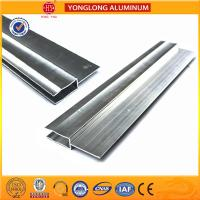 Quality Silver / Champagne Anodized Aluminum Extrusion Profiles For Industrial wholesale