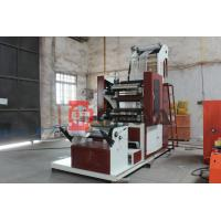 Quality Stretch Film Extruder Machine With Two Colors Printing 250 - 1000mm Length wholesale