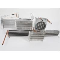 China High Effciency Air Conditioner Heat Exchanger Aluminium Tube And Fin Strong Structure on sale
