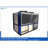 Quality 109kw 30 TR Industrial Air Cooled Water Chiller Scroll Compressor Chiller wholesale
